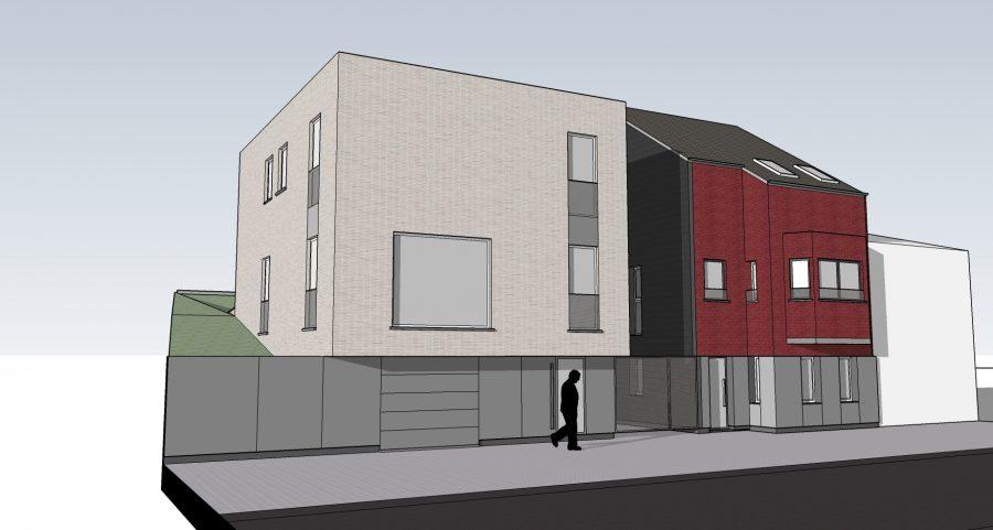 habitations unifamiliales type bureau d architecture pierre ploumen dalhem li ge. Black Bedroom Furniture Sets. Home Design Ideas